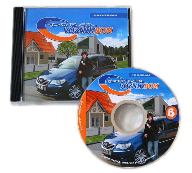CD dober voznik bom